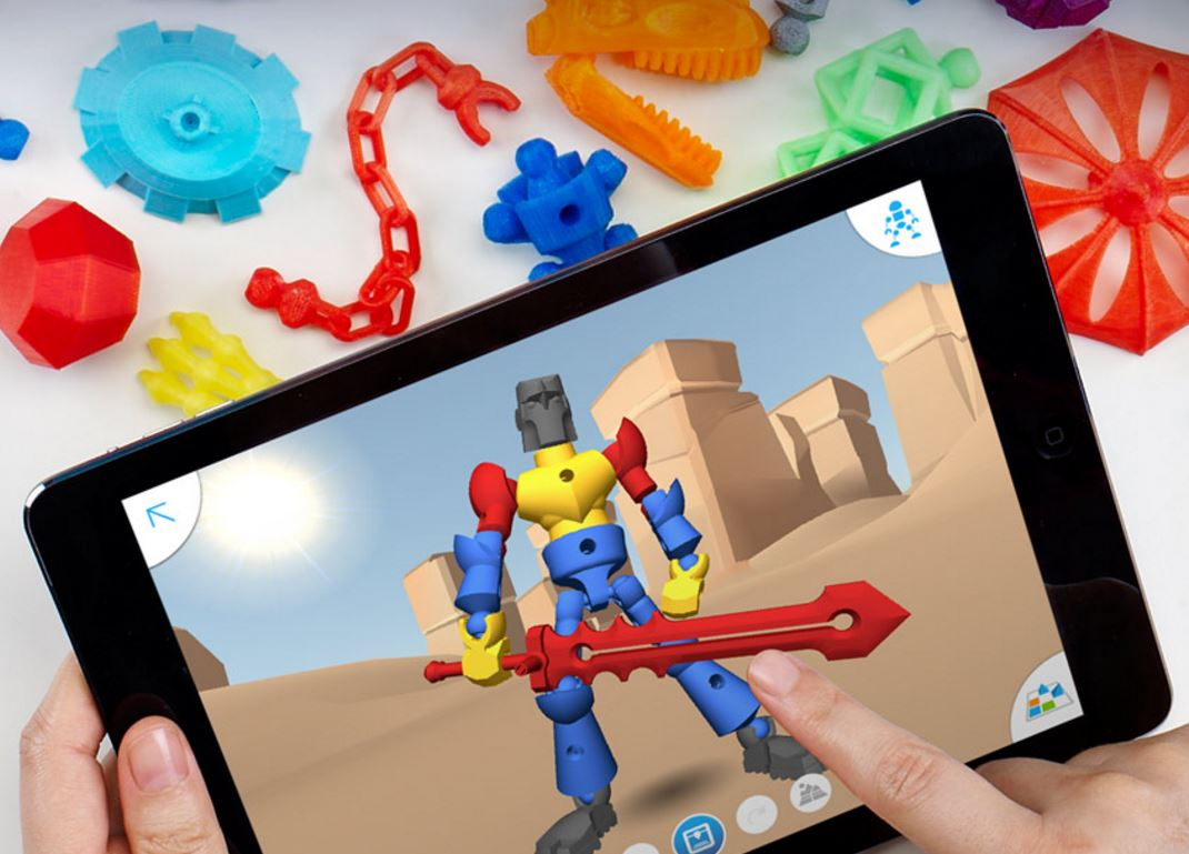 3d printing toys kids education application