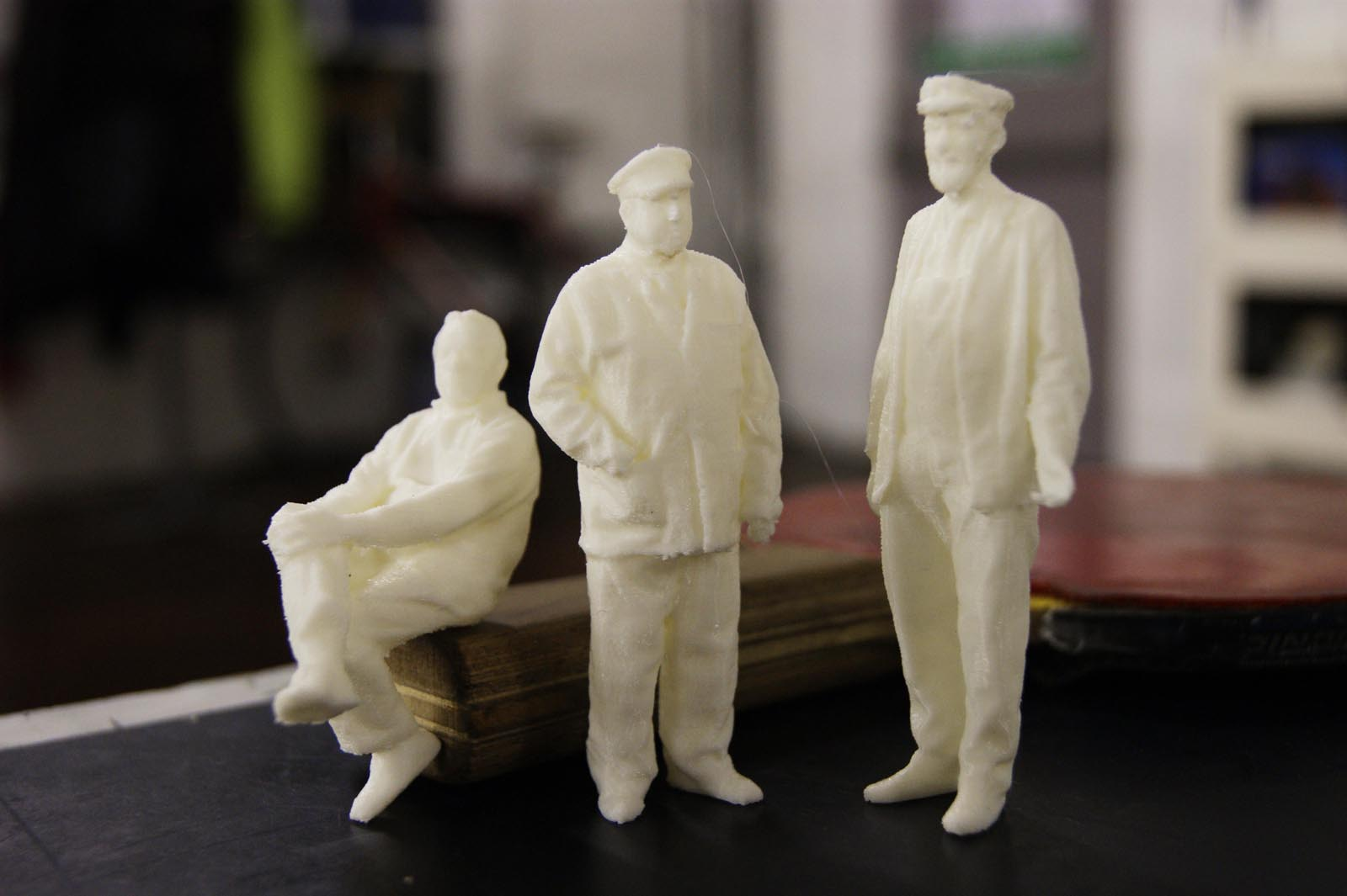 photograph regarding 3d Printable Figures called 3D Released miniatures towards 3D scans