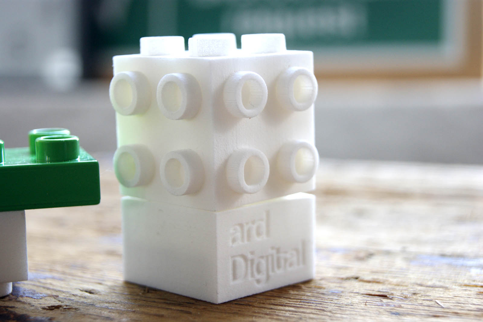 3D Printed Duplo Blocks