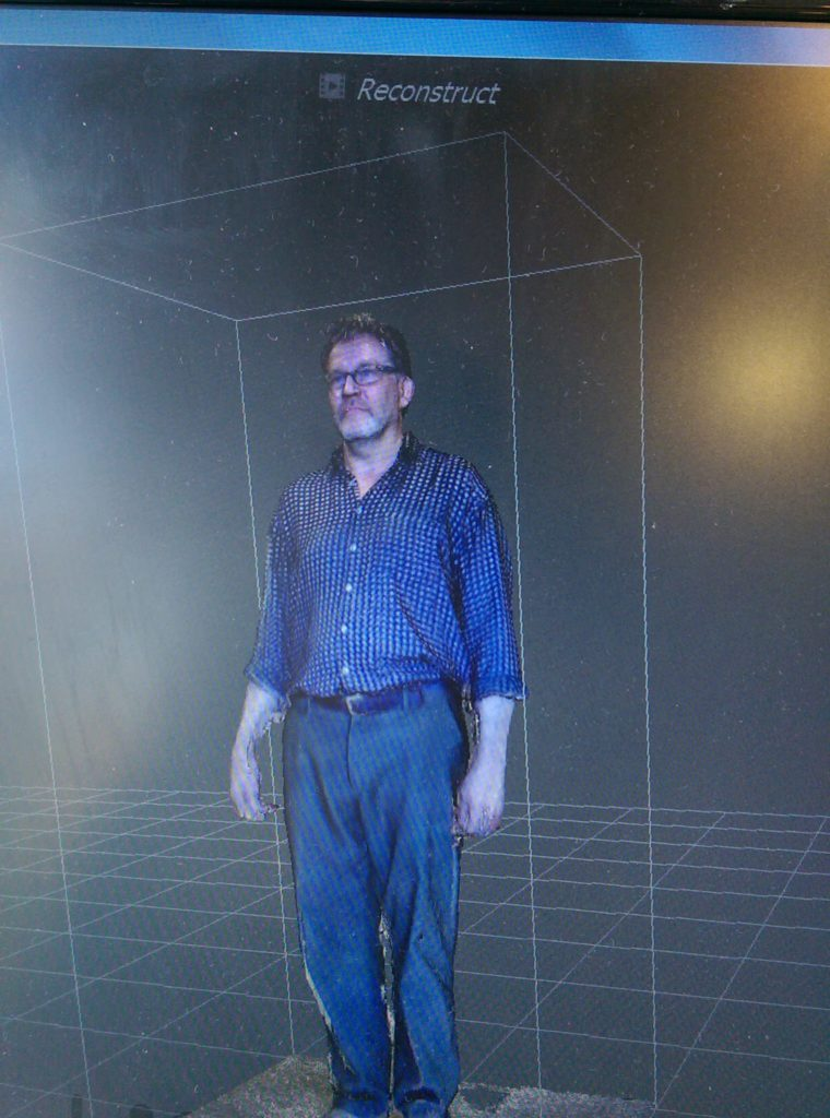 3d scan scanning male