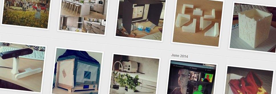 Instagram blog updates