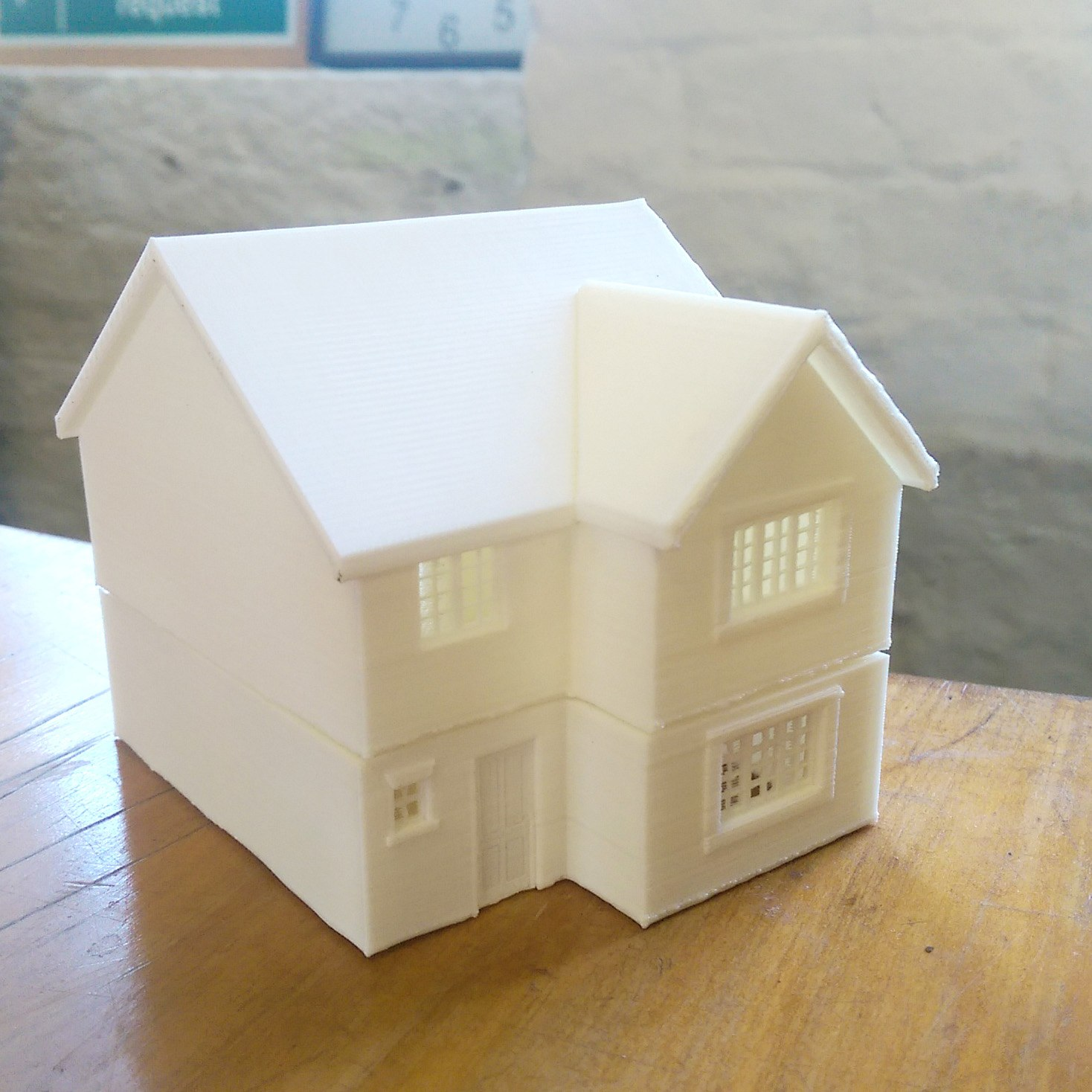 Miniature house 3d printing 3d model house design