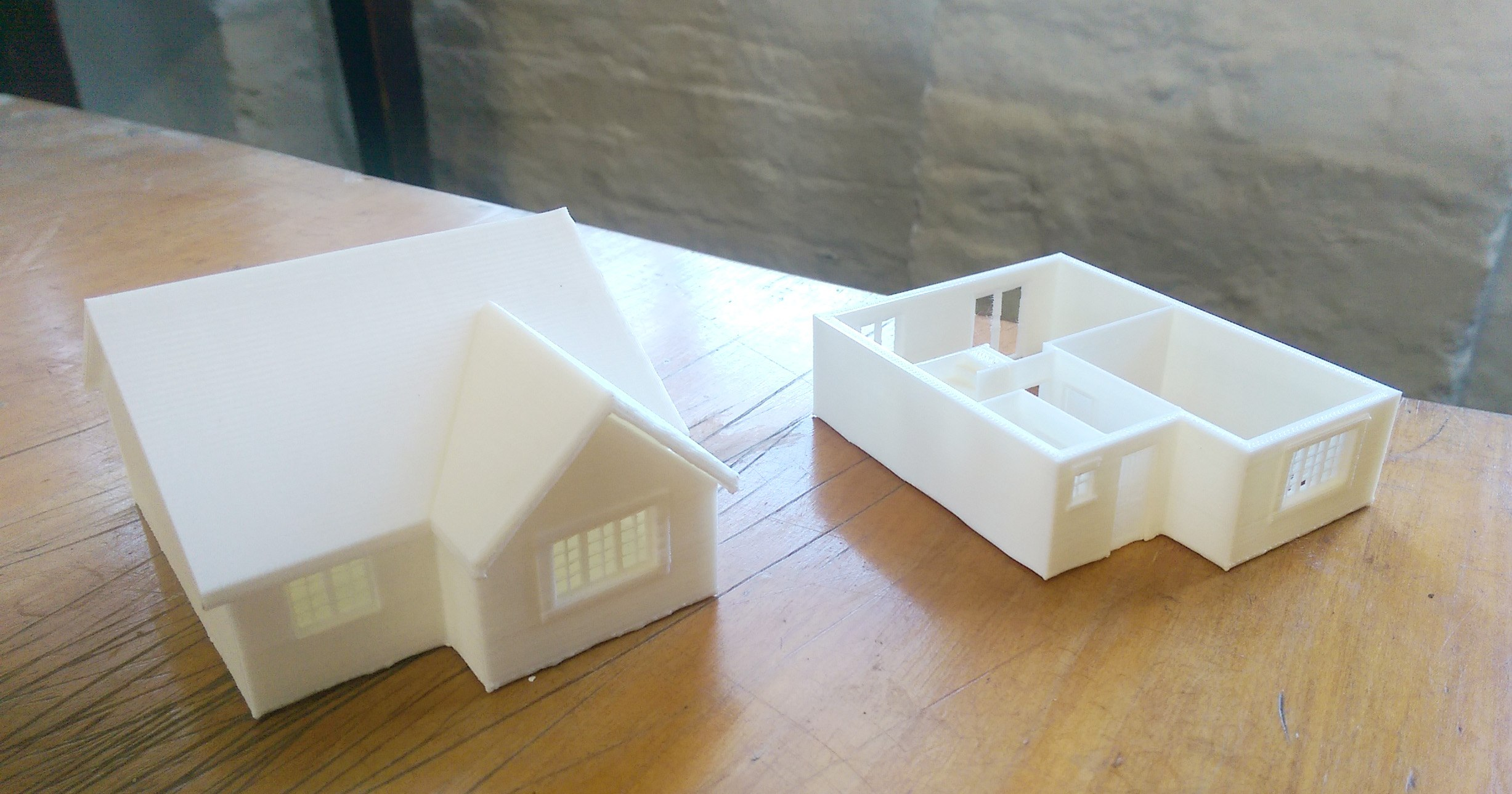 Miniature House 3D Printing