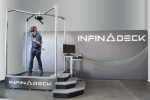 Virtual Reality Treadmill, an alternative to the 360 virtual reality chair