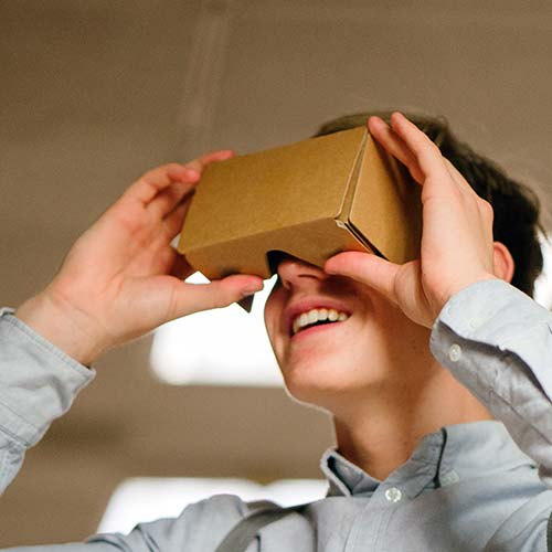 Blog Google Cardboard VR Virtual Reality