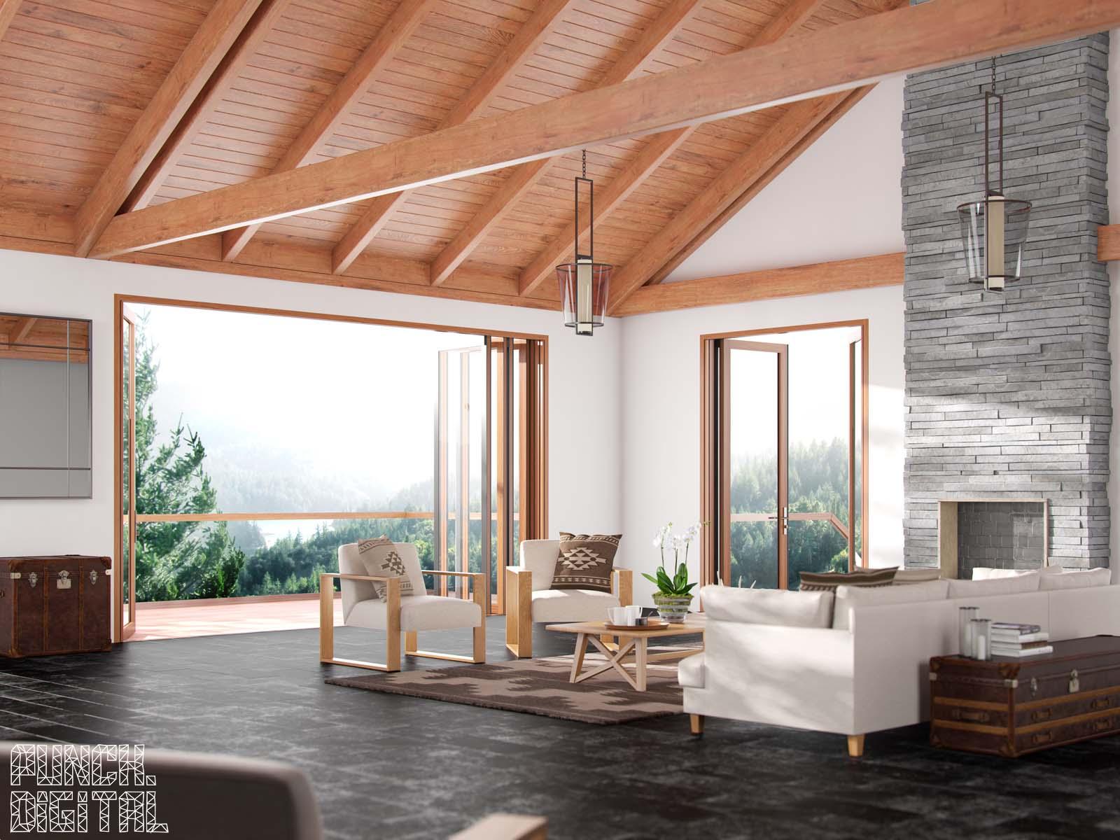 Centor Doors Interior Product CGI Visualisation