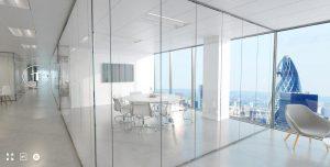 London Office Tour VR 360 Interactive Tour CGI