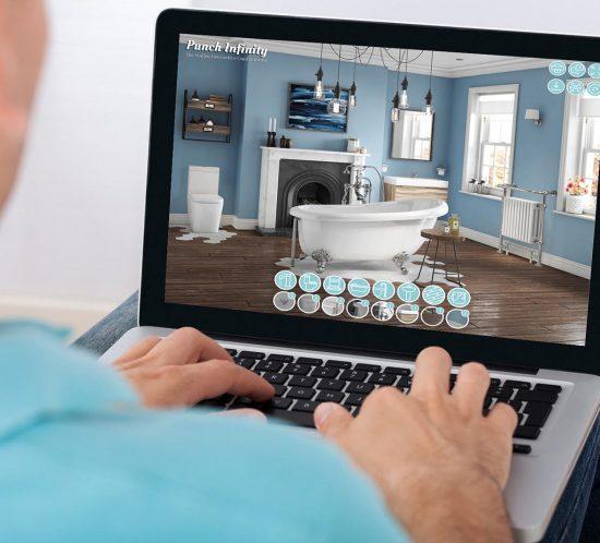 Regents Road Bathroom Interactive Configurator CGI Visualisation