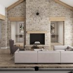 Lounge Fredericsburg Interior CGI Visualisation Digital Room Set