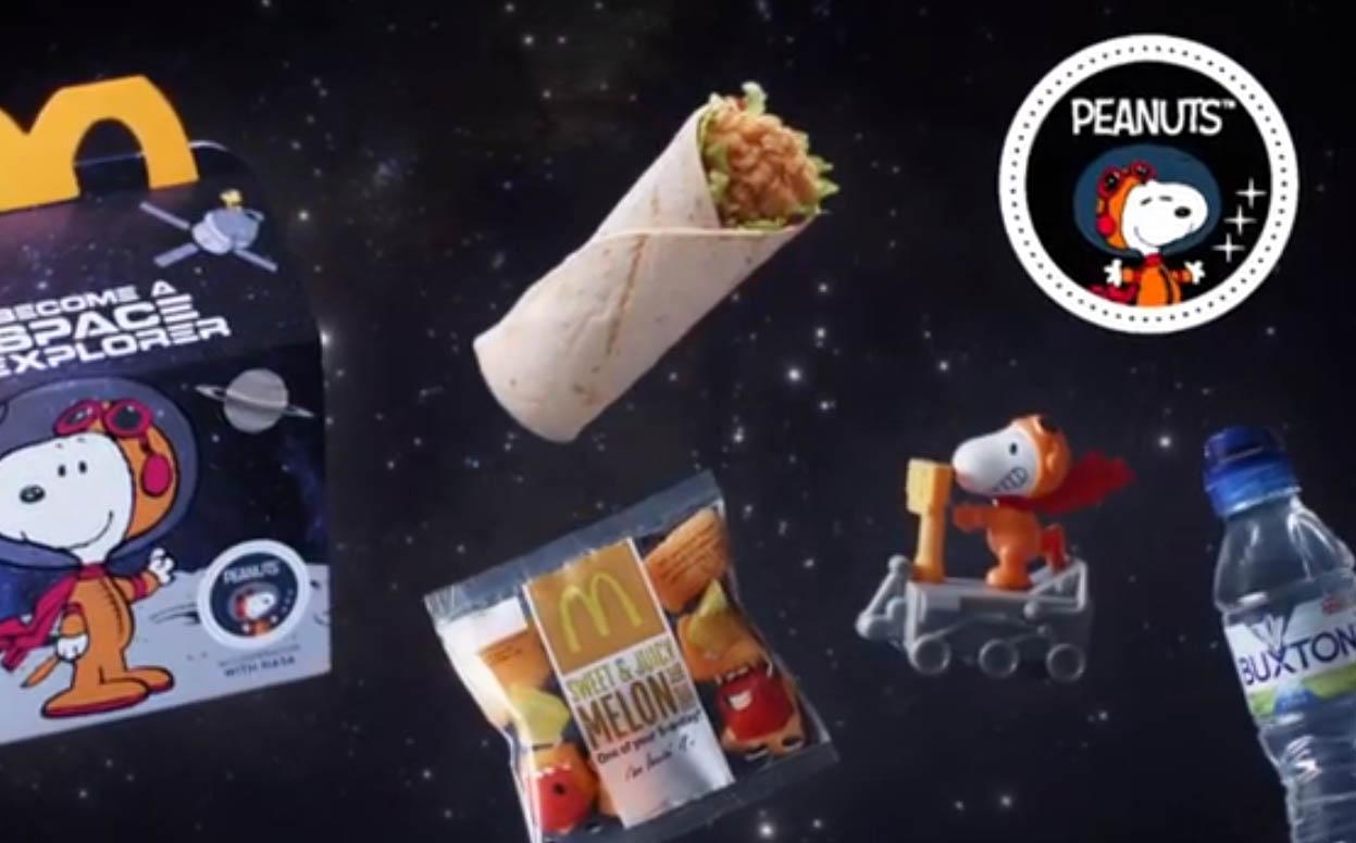 Food CGI McDonalds Marketing Advertising