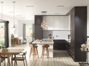 Interior Kitchen CGI 3D Illustration Visualisation KBB